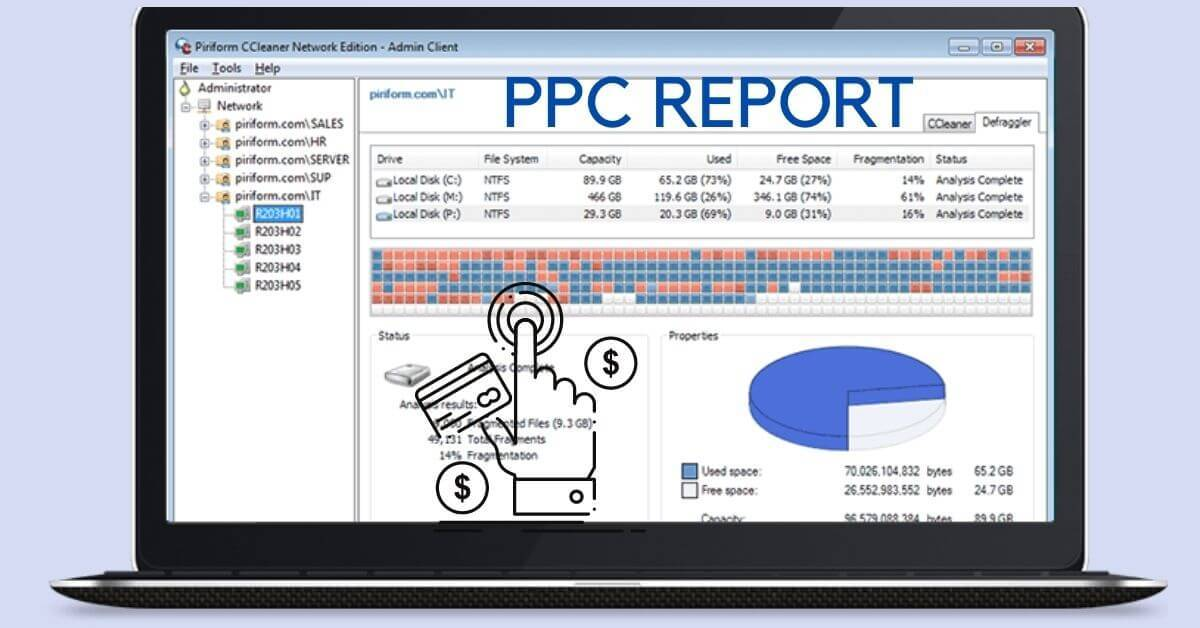 what goes on a ppc report